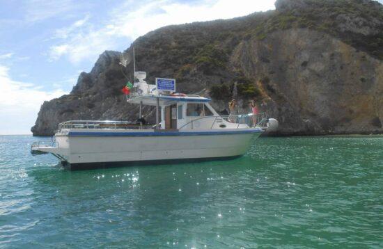 transporte aluguer turismo maritimo embarcação fibramar batnavo